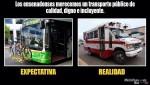 TRANSPORTE PUBLICO REALIDAD 2