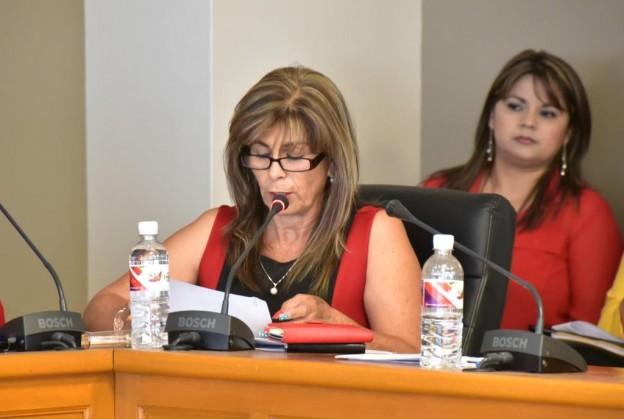 La regidora Columba Domínguez (Ayuntamiento de Ensenada).