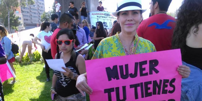Con sombrero, Elvira Luna Pineda (Cortesía).