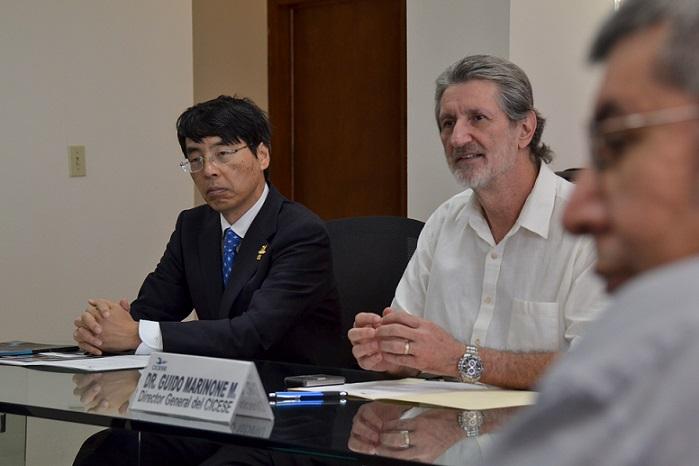 Embajador japones en CICESE