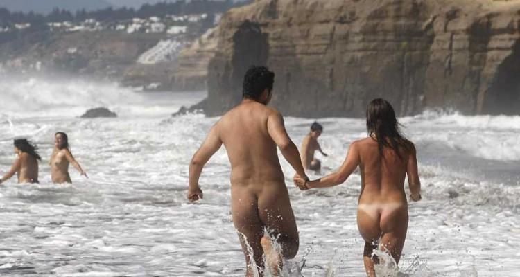 Playa Luna, nudismo en Sudamérica (Foto: internet).