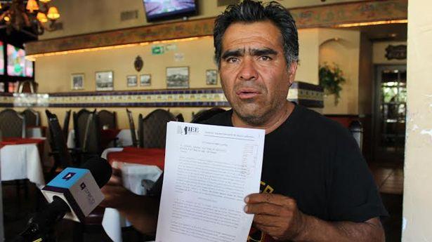Ramiro Orea, uno de los dos presidentes que tiene el Partido Municipalista de Baja California (Foto: Uniradio).