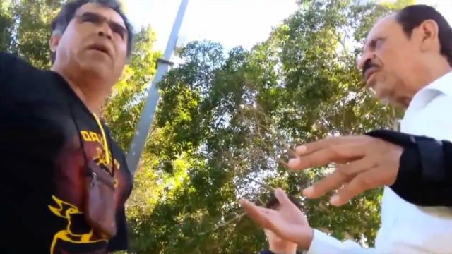 Ramiro Orea y Fernando Santillán cuando todavía compartían proyectos. Hoy comparten golpes, patadas, insultos (Foto: plexmx.info)