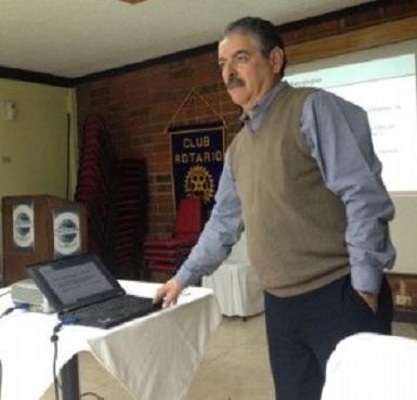 Carlos Loyola, candidato del PAN a munícipe de Ensenada (Foto: El Vigía).