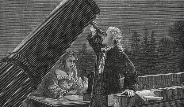 Los hermanos Herschel (Imagen: Internet).