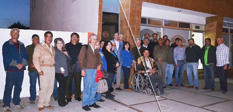 Panistas de Ensenada protestan por antidemocracia en su partido y apoyan a Francisco Tarín (Foto: cortesía).