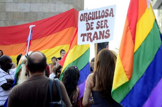 TRANSEXUALES MITIN