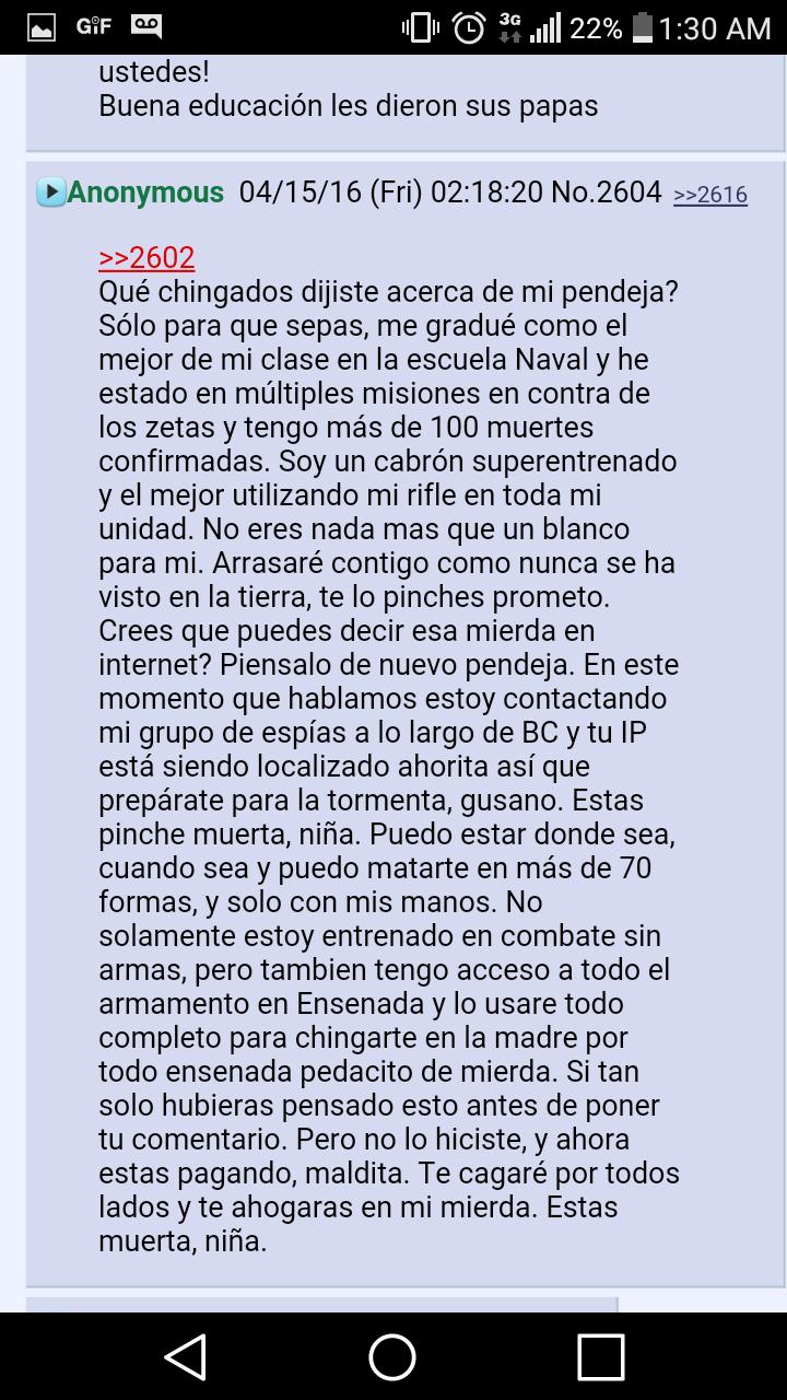 AMENAZA MUJERES ENSENADA
