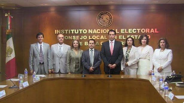 Los consejeros del IEEBC, de manteles largos y bien pagados (Foto: cortesía).
