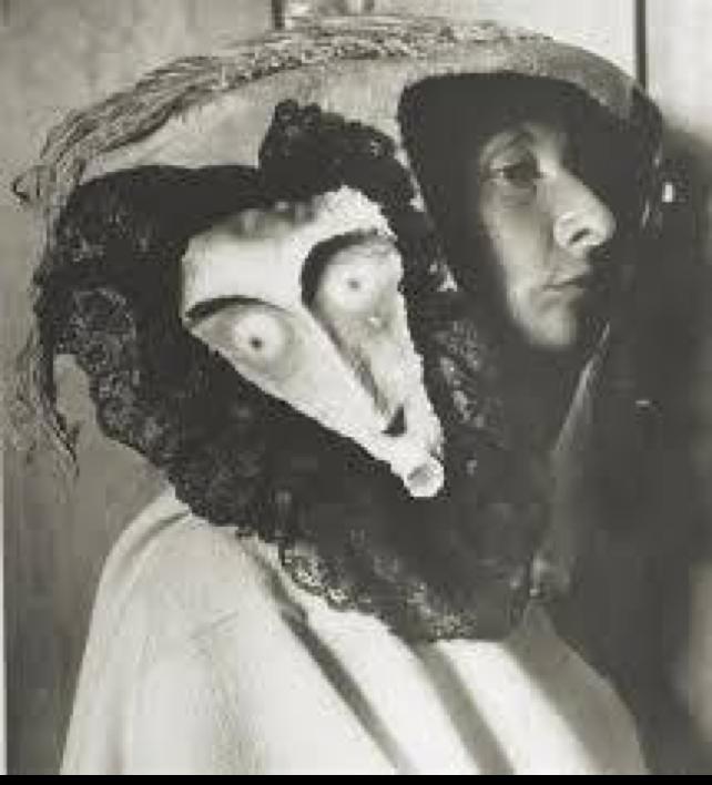 Remedios, con máscara (Foto: internet).