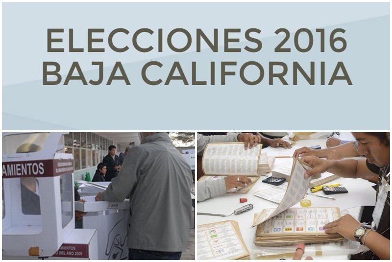 ELECCIONES BC 2016