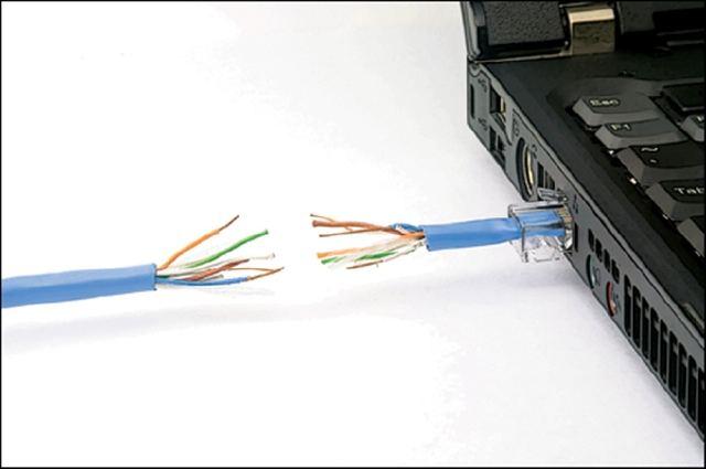 INTERNET DESCONECTADO CABLES
