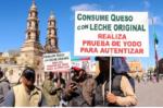 LECHEROS Y QUESO ORIGINAL PROTESTA