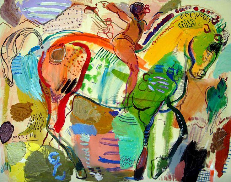 Cuadro del artista español José Manuel Merello (Foto: pinterest.com)