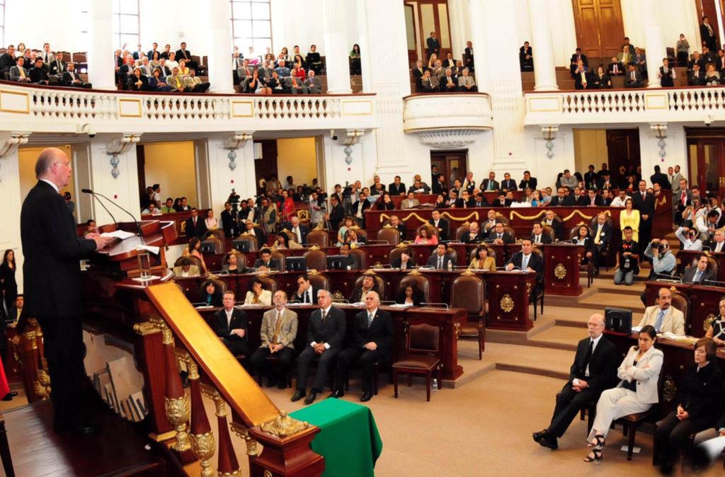 Sesión de la Asamblea Legislativa de la Ciudad de México (Foto: UNAM).