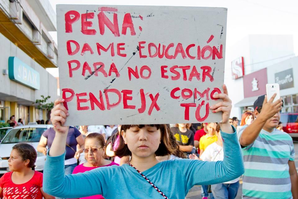 EPN DAME EDUCACION NO PENDEJO