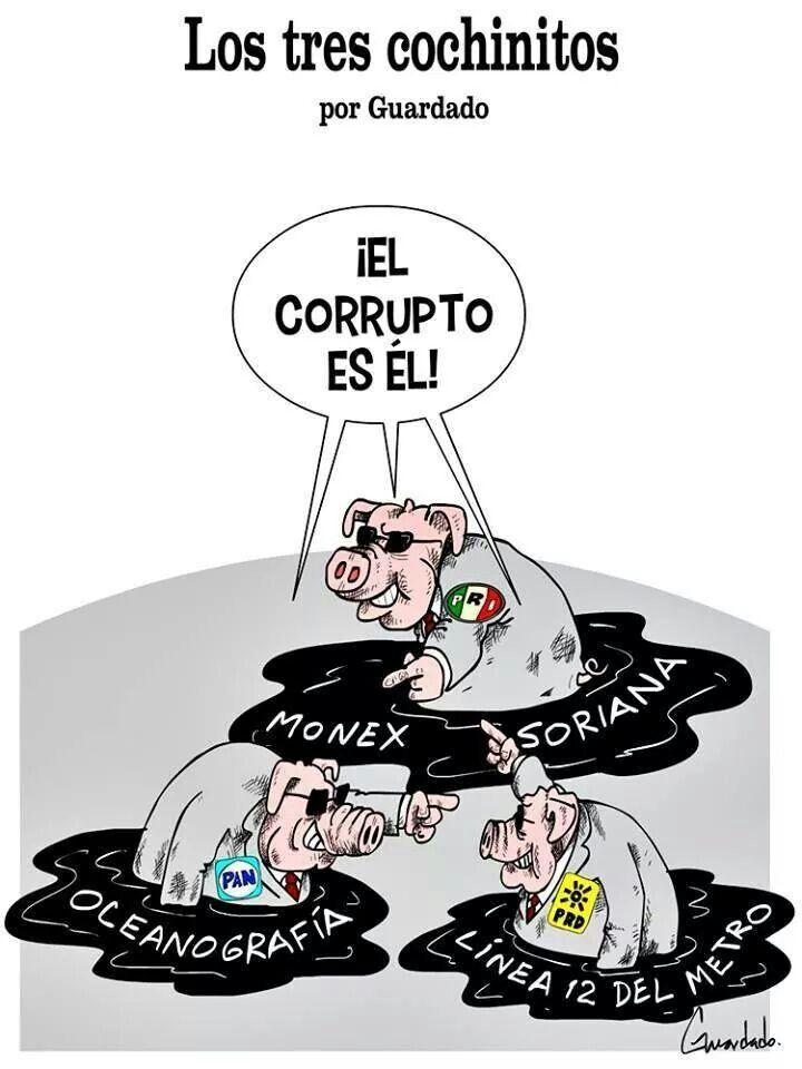 TRES COCHINITOS PRI PAN PRD