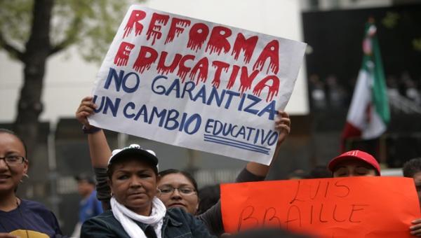 REFORMA EDUCATIVA NO CAMBIO