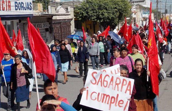 SAGARPA CUMPLE CAMPESINOS