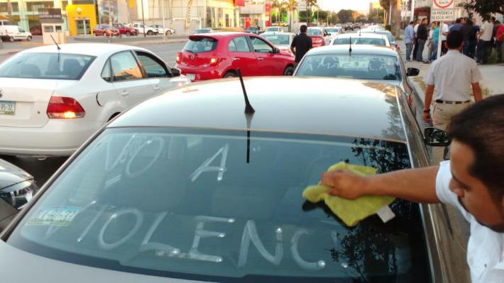 UBER NO VIOLENCIA TIJUANA