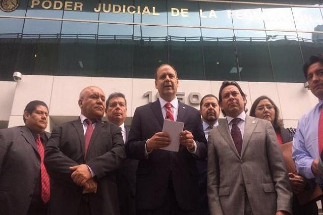 La cúpula empresarial demandó a Peña Nieto por no desalojar de la vía pública a la CNTE (Foto: Internet).