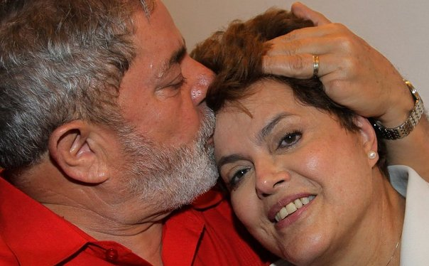 Dilma y Lula da Silva (Foto: Diario Correo).