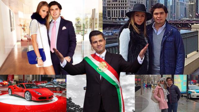 Lujosa vida del hijo de Peña Nieto, Alejandro Pretelini