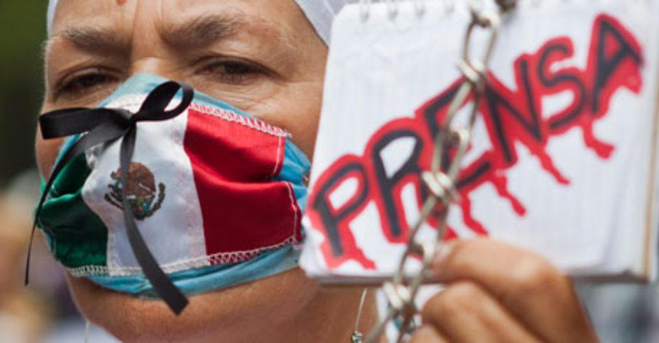 PRENSA MEXICO PROTESTA