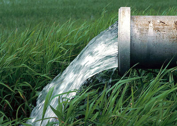 riego agua análisis