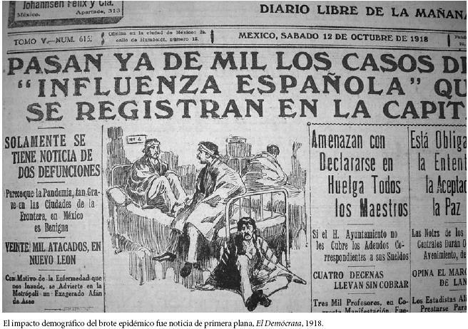 influencia-espanola-1918-periodico-mexico