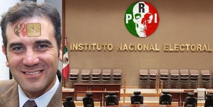 Lorenzo Córdova, presidente del INE
