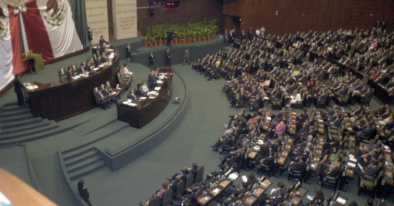 La Cámara de Diputados en sesión (Internet9