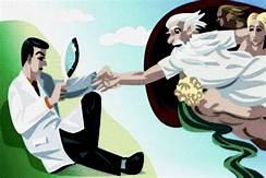 Ciencia y Religión. (imagen de internet)