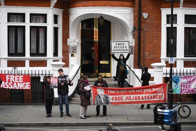 Julián Assange, libertad! es la consigna que une a jóvenes y ciudadanos del mundo. Foto: internet