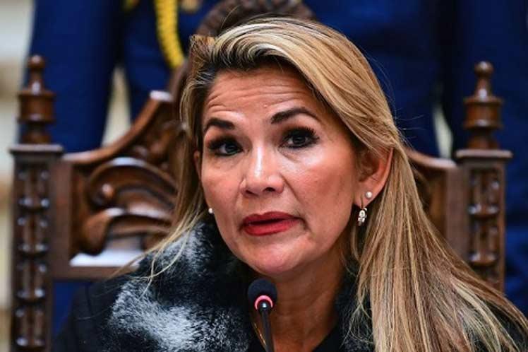 Jeanine Áñez, presidenta interina de Bolivia que arriba a este cargo tras el golpe de estado contra el gobierno de Evo Mrales. Foto: internet